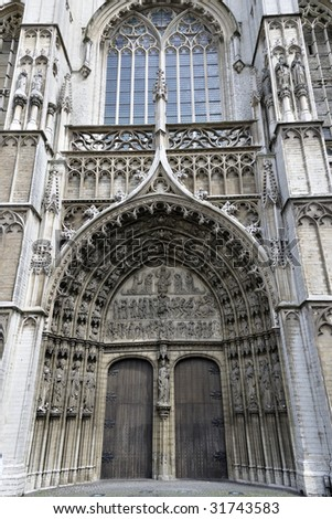 Cathedral in Antwerp Belgium #31743583