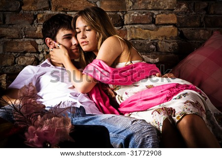 young couple in love #31772908