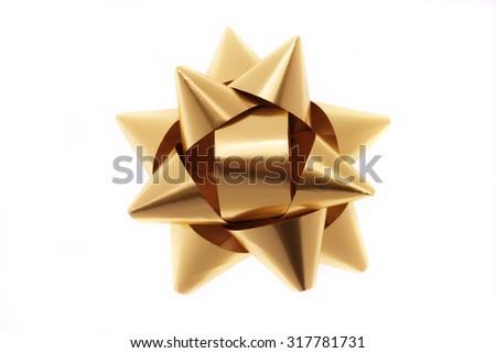 Ribbon, gold #317781731