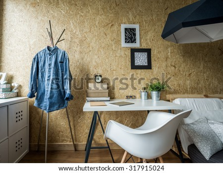 Picture of room design for male student