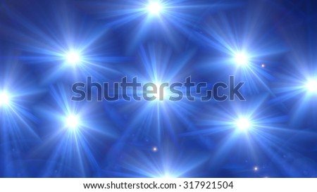 beautiful star lens flare effect is simple to use add on background