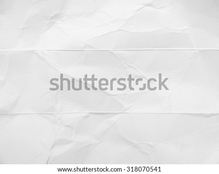 white crumpled cardboard paper texture Royalty-Free Stock Photo #318070541