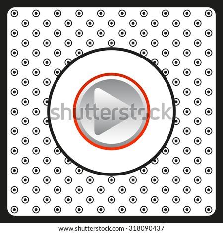 play. icon. vector design #318090437
