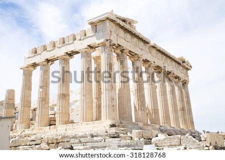 Parthenon on the Acropolis, Athens, Greece #318128768
