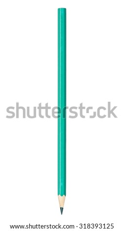 colored pencil isolated on a white background #318393125