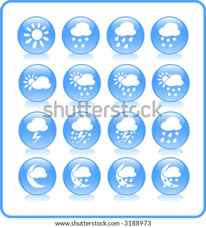 Weather vector iconset #3188973
