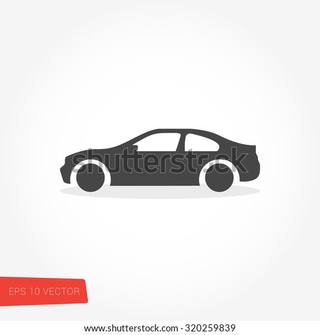 Car Icon Royalty-Free Stock Photo #320259839