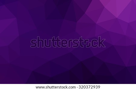 Multicolor purple magenta violet gradient geometric pattern. Triangles background. Polygonal raster abstract for your design. Cool background image for websites.