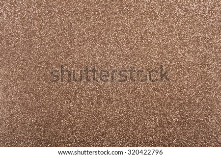 Bronze background with metallic glitter texture in full frame #320422796