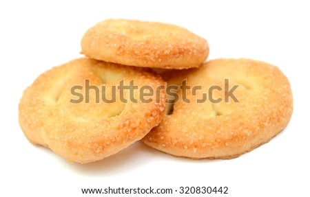 cookies isolated on white background #320830442