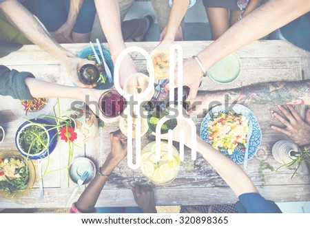 Spoon Fork Dishware Food court Equipment Concept #320898365