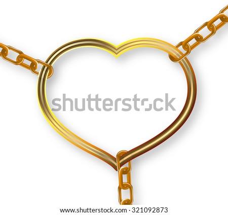 chain heart breaks #321092873