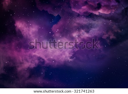 Stars in the night sky,purple background. #321741263