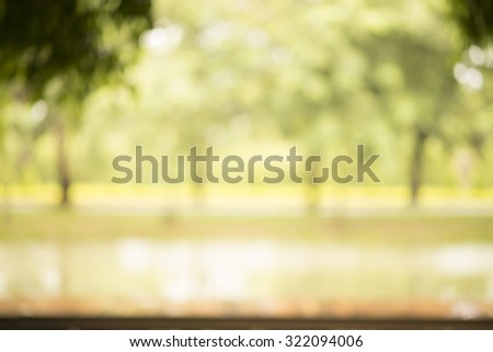 Green bokeh; Abstract background for graphic designer #322094006