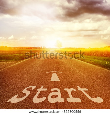 To start road  #322300556