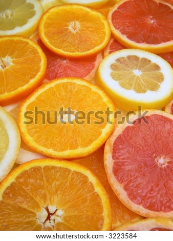 Slices of fruits #3223584