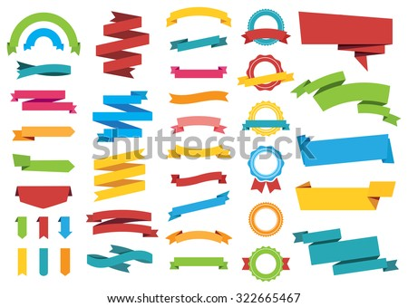 This image is a vector file representing Labels Stickers Banners Tags Banners vector design collection./Labels Stickers Banners Tags Banners/Labels Stickers Banners Tags Banners Royalty-Free Stock Photo #322665467