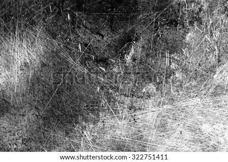 Grunge Black and White Distress Texture . Scratch Texture . Dirty Texture .Background . Royalty-Free Stock Photo #322751411