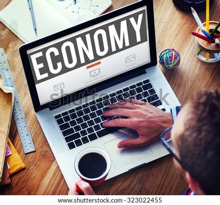 Economy Finance Investment Money Currency Concept #323022455