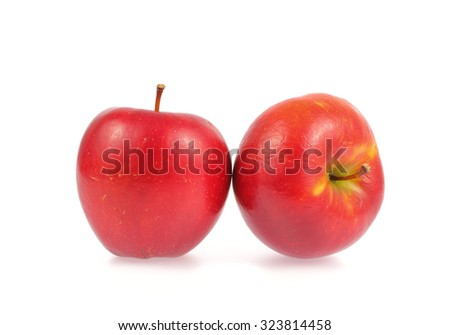apples isolated on white background #323814458
