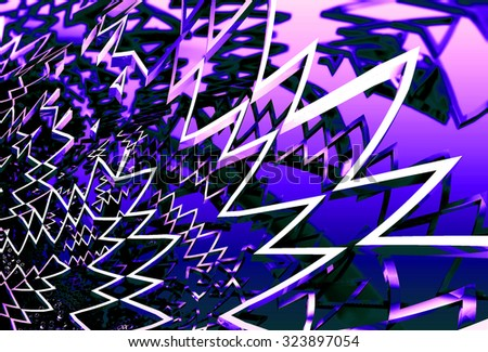 blue abstract 3d design that works great as a background or backdrop #323897054
