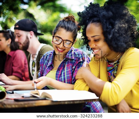 College Communication Education Planning Studying Concept #324233288