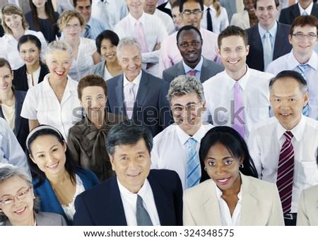 Diverse Business People Successful Corporate Concept #324348575