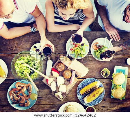 Food Lunch Celebration Party Flavors Concept #324642482