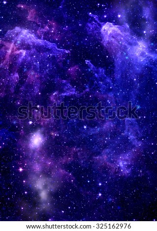 "Small part of an infinite star field of space in the Universe. ""Elements of this image furnished by NASA"". #325162976"