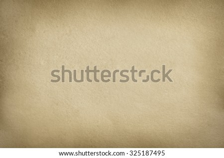 Brown cardboard of paper texture or background with cast framework #325187495