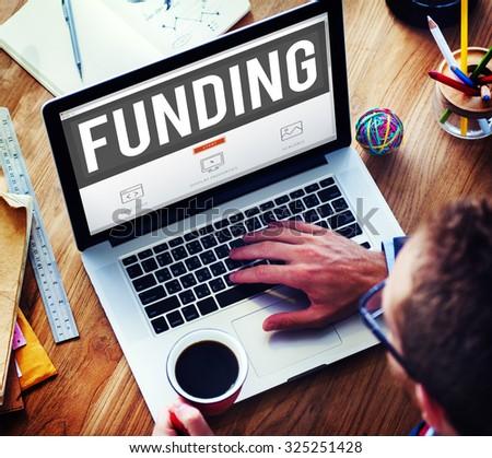 Funding Finance Fundriser Global Business Invest Concept #325251428