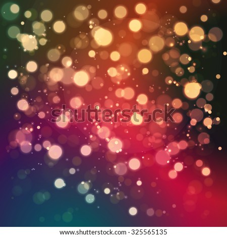 Christmas abstract background with soft color bokeh light #325565135