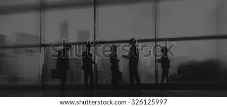 Business People Communication Office City Concept #326125997