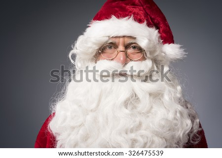 It's the time to welcome a Santa Claus #326475539