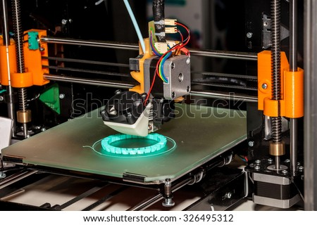 Working 3d printer