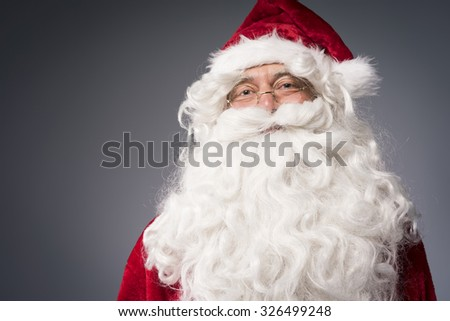 Cheerful Santa claus is waiting for you #326499248