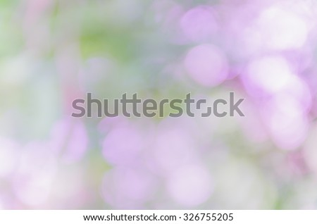 violet bokeh background from nature #326755205