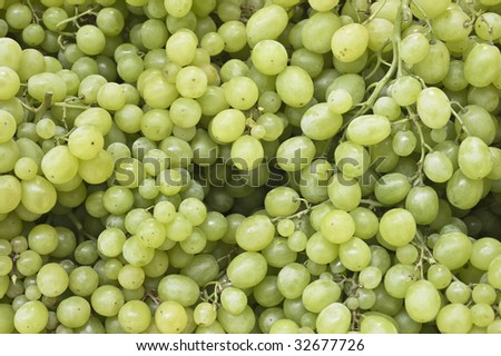 background with green grape #32677726