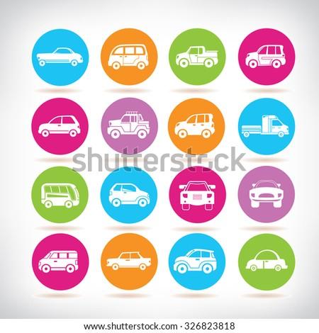 car icons set #326823818