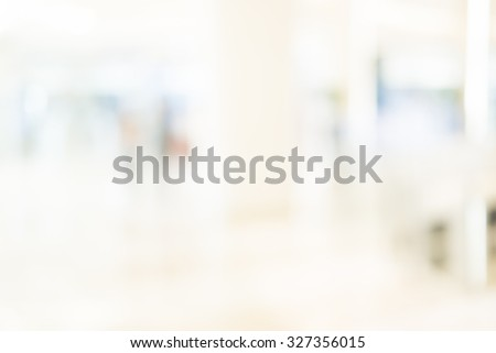 Blur image of shopping mall with shining lights #327356015