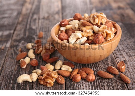assorted nuts #327454955