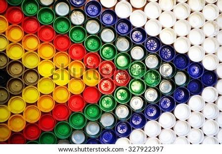?olor pattern of bottle caps #327922397