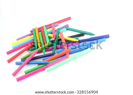 multicolor Magic pen with white background #328156904