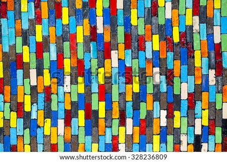 Colorful of ceramic wall background #328236809