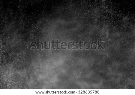 Snowstorm texture,Water dust in motion like snow,Watercolor background #328635788