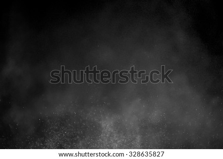 Snowstorm texture,Water dust in motion like snow,Watercolor background #328635827
