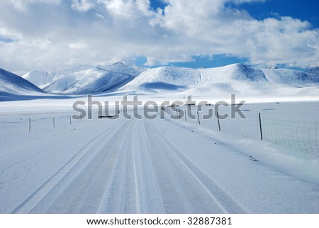 Vast Snow Land #32887381