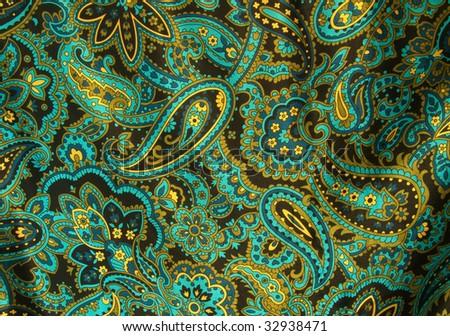 Paisley amoeba fabric #32938471