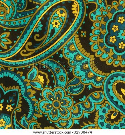 amoeba Paisley fabric #32938474