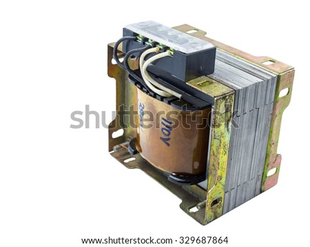 Isolated Electric Transformer #329687864